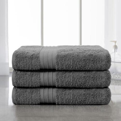 4-Piece Bath Towels Set for Bathroom100/% Soft Cotton Turkish Towels Plum