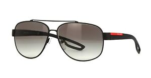 d1b430d0d7 Prada Linea Rossa SPORT L.J. SILVER SPS 58QS black rubber grey ...