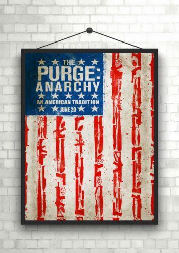 The Purge Anarchy Classic Movie Poster Art Print A0 A1 A2 A3 A4 Maxi