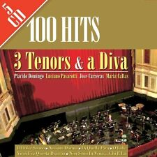 100 Hits - 3 Tenors & a Diva - 5 CDs - NEU/OVP