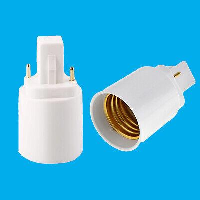 4x GU10 To Edison Screw E27 ES Light Bulb Base Socket Lamp Adaptor Converter