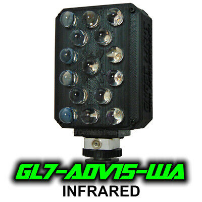 Ghost Light ™ GL6-ADV15 IR Extra Wide Angle Infrared LED for Night Vision Camera