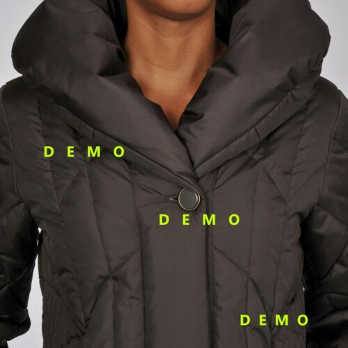 Collar Nwt Black Pillow Down S Jacket Levine Women's Larry Size qYvqO