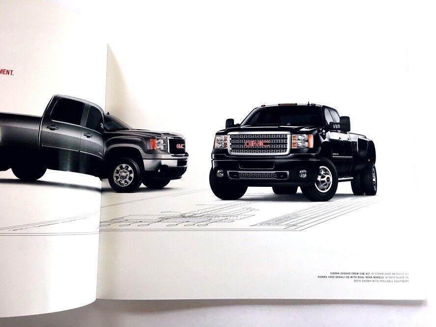 2011 GMC Sierra Heavy Duty HD 34-page Sales Brochure Catalog Truck Denali 2500