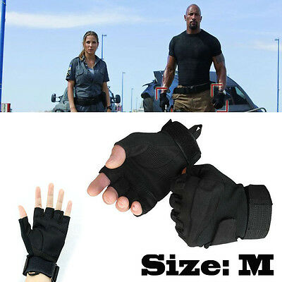 Half Finger Gloves Military Tactical Airsoft Adjustable Protective 3 Choices