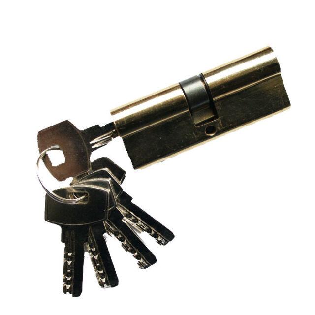 60mm Zylinderschloss Zylinder Türzylinder Einbauschloss Schloss mit 3 Schlüssel
