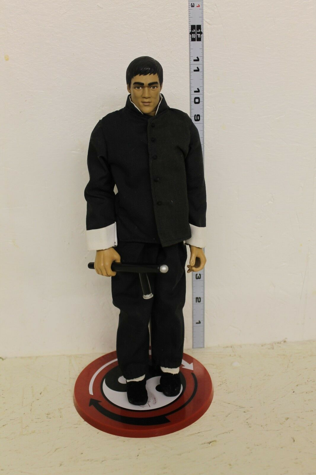 LOOSE Bruce Lee 12in Figure Blau