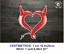 Corazon-Diablo-CR121-Cuore-Debil-Heart-Vinilo-Pegatina-Vinyl-Sticker-Decal