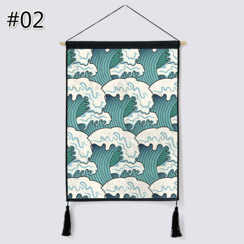 Japanese Noren Printed Tapestry Wall Hanging Flag Banner Background Home Decor