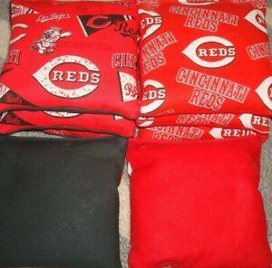 Cornhole Bags Cincinnati Reds MLB Set of 8
