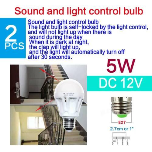 LED E27 Energy Saving Cool White Light Bulbs Super Bright Lamp 12V-265V 110V Lot