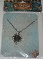 Steampunk Antique Butterfly Gear Necklace Jewelry
