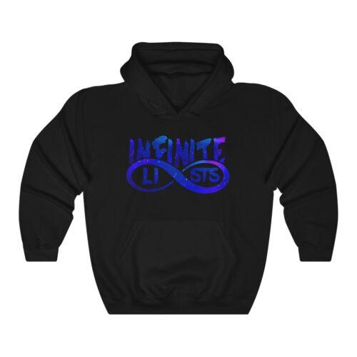 Infinite Lists merch Infinite Lists Hoodie Blue Galaxy Infinite Lists Sweater