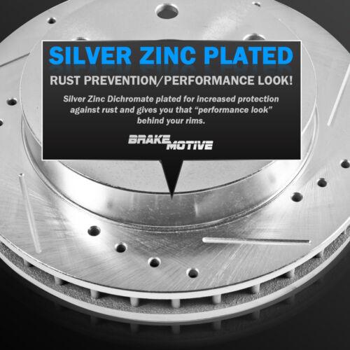 Front+Rear Drill Slot Brake Rotors /& Ceramic Pads For Acura MDX ZDX Honda Pilot