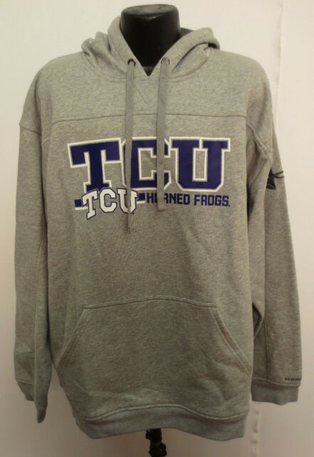 e36ae385 TCU 2XL HOODIE HOODY NCAA UNDER ARMOUR HORNED FROGS WATER RESISTANT NEW MENS