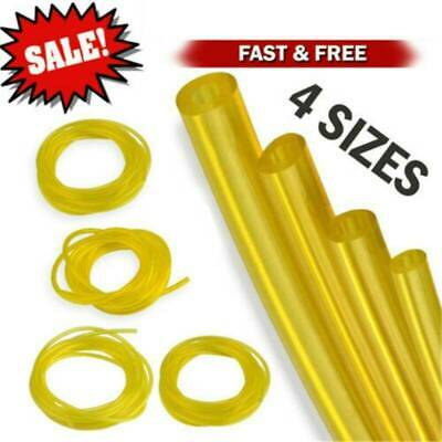 US 4x Petrol Fuel Gas Pipe Line Hose For Strimmers Trimmer Chainsaws Brushcutt