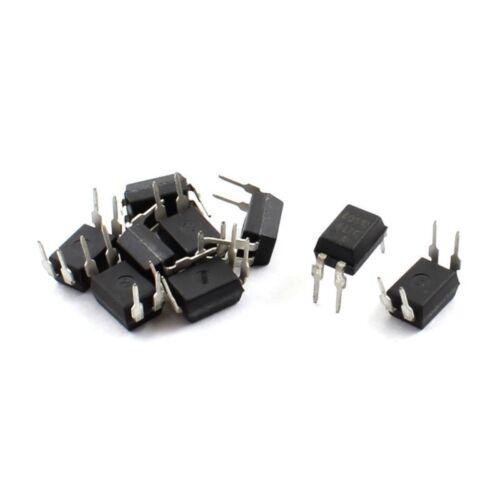 10Pcs PCB Tafel Durchgangsbohrung PC817C PC817 EL817 817C Optokoppler DIP- N5 6X
