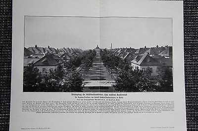 Rudolf-virchow-krankenhaus In Berlin Druck Von 1906 Pavillonstil