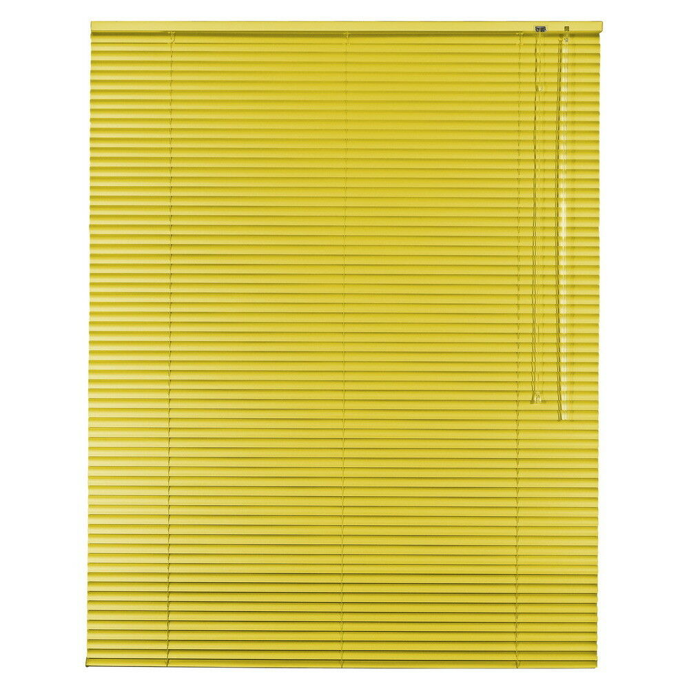 Alu Jalousie Aluminium Jalousette Jalusie Schalusie - Höhe 250 cm gelb   Ich kann es nicht ablegen