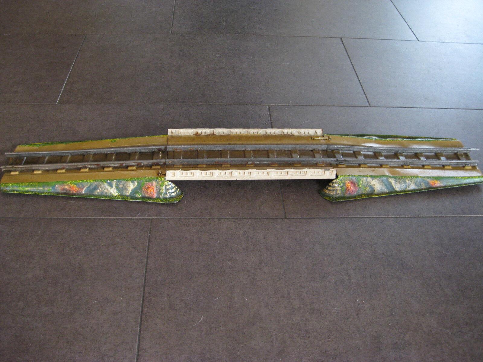 traccia 0 ponte con rampe in lamiera 78 cm