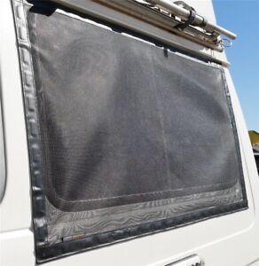 Fliegennetz-Moskitonetz-Fenster-magnetisch-Camper-Campingbus-Offroad-Wohnmobil