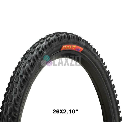 """Panaracer Dart Classic Pliant Pneu 26x2.10/"""" Noir//Noir Vélo Cycle Bicyclette"""