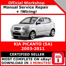 USB KIA Picanto SA 2004-2012 Workshop Manual