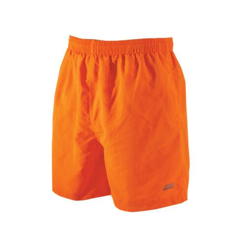 Zoggs Penrith Shorts Da Uomo Arancione in Taglie S-XXL dispone di un elastico in vita