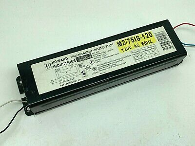Howard E2//32IS-120 2-Lamp Fluorescent Ballast for F32T8 F17T8 MADE IN USA 2