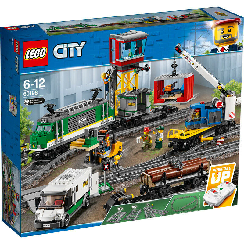 Lego City Cargo Train 60198 NEUF