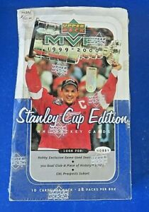 1999-00-Upper-Deck-STANLEY-CUP-NHL-MVP-HOCKEY-CARD-BOX-28-PACKS-Factory-Sealed