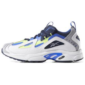 New-Mens-Reebok-DMX-Series-1200-WHITE-BLUE-CN7199-US-7-10-TAKSE
