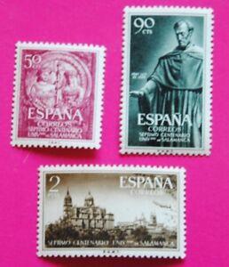 ESPANA-1953-ED-1126-28-UNIVERSIDAD-DE-SALAMANCA-OFERTAS-PERMANENTES