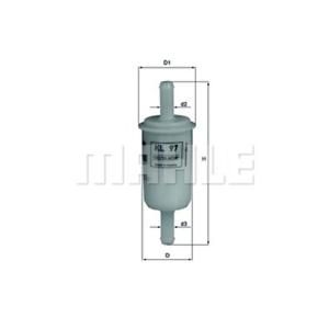 Kraftstofffilter Mahle KL 659