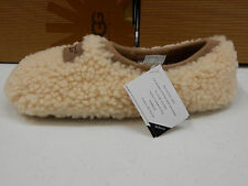 UGG WOMENS SLIPPERS BIRCHE NATURAL SIZE 11