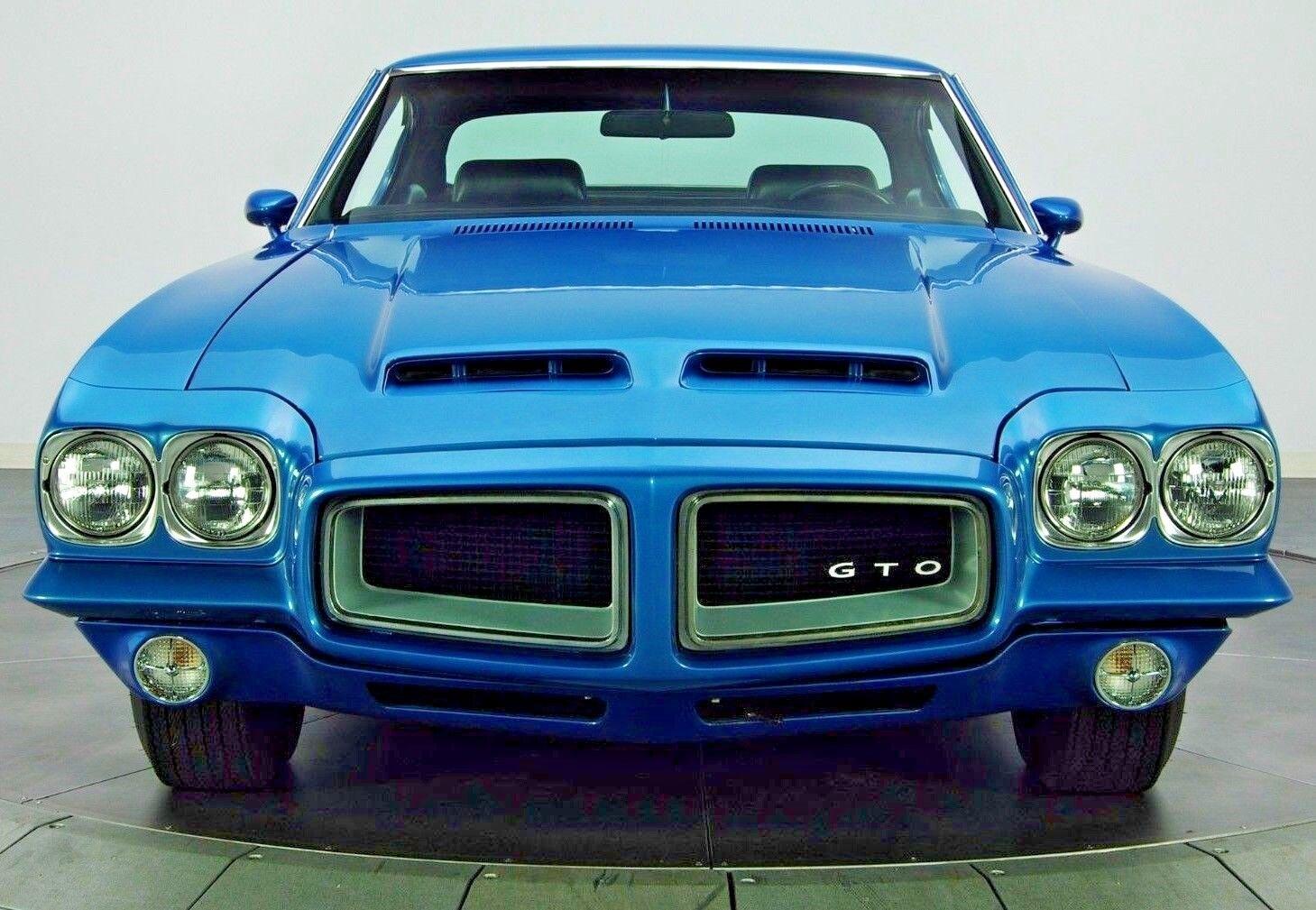 1970s Pontiac Gto 1 Gp F 24 Coche De Carreras Vintage Sport Racer 12 Dragster Metal 18