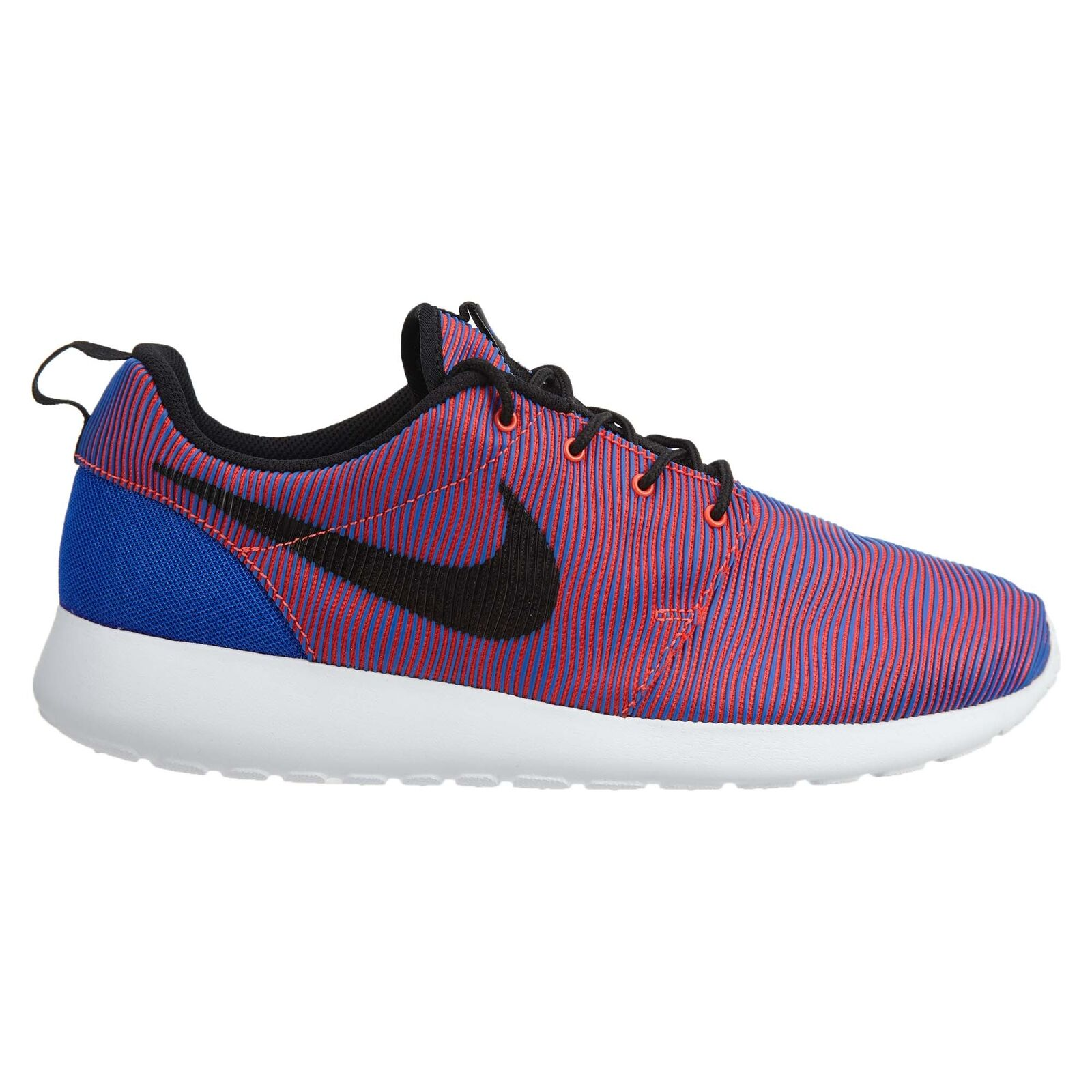 Nike Roshe One Premium Plus Mens 807611-407 Blue Crimson Running Shoes Size 10