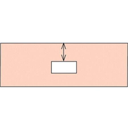 Rectangular Top punzón de muesca para listones verdeicales ciego (Pvc Y Aluminio)