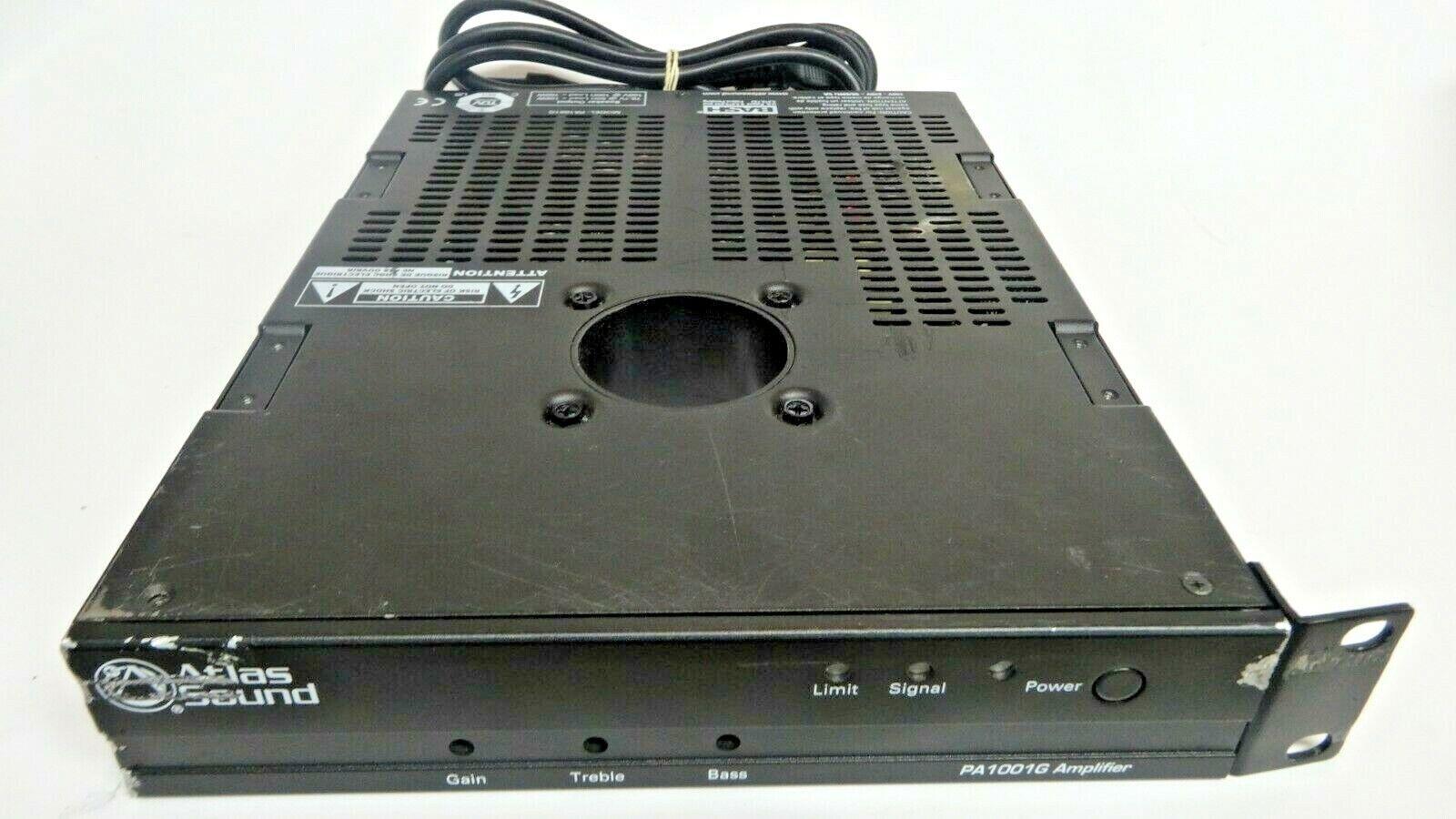 Atlas Sound PA1001G Single Channel 100-WATT Pole Mount Amplifier
