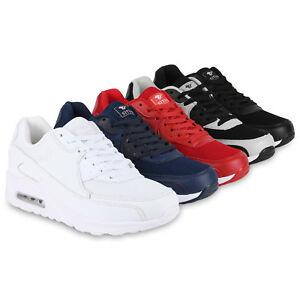 Herren-Sportschuhe-Laufschuhe-Sneakers-Runners-Profilsohle-816768-Schuhe