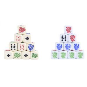 10-stuecke-Acryl-Carving-Wuerfel-16mm-Runde-Ecke-High-end-Poker-Wuerfel-Fuer-Sp-F