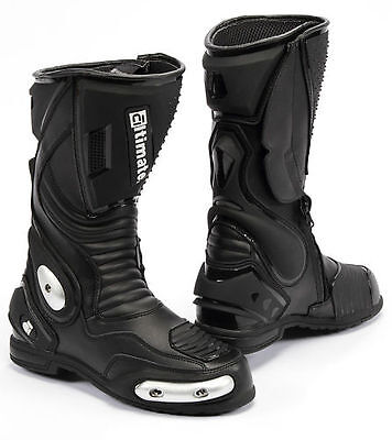 Womens Motorcycle boots racing sport boot sz 8 by altimate