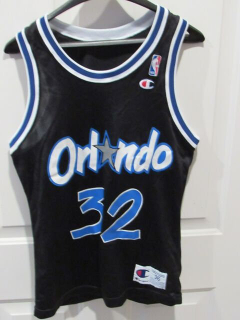 b81225f74d2 VTG SHAQUILLE O'NEAL ORLANDO MAGIC Jersey men's size 36 Champion Shaq NBA  USA