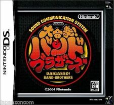 Used DS Daigasso! Band Brothers  NINTENDO JAPANESE IMPORT