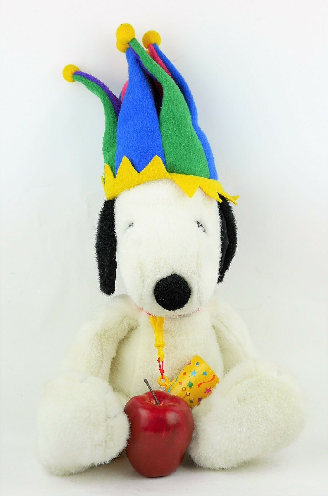 MACY'S 2000 MILLENNIUM SNOOPY COURT JESTER PLUSH PLUSH PLUSH DOLL 19  New Years Exclusive 6631c1