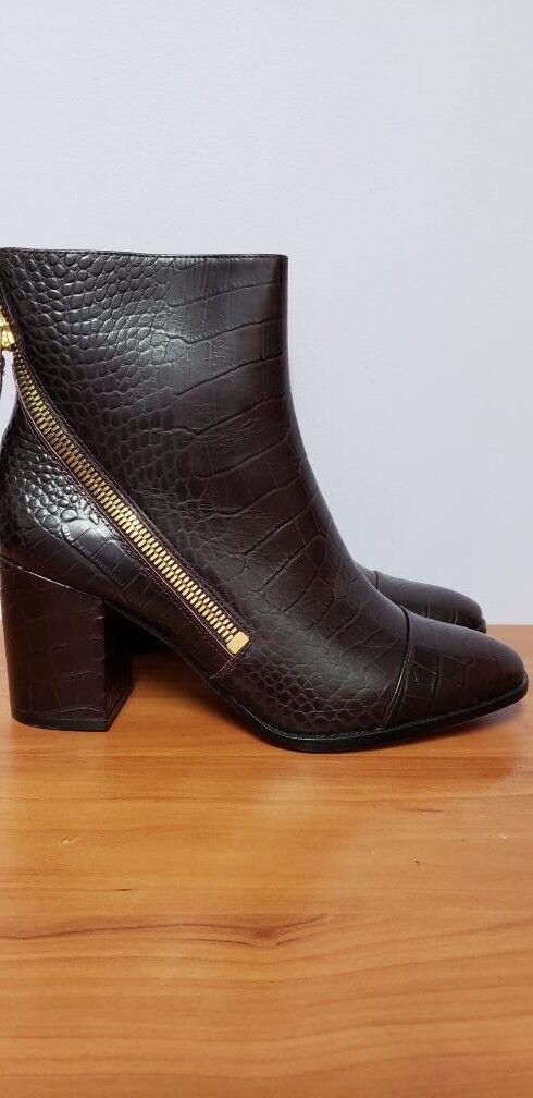 women Karan  Alina Ankle Boots size 9  New  RP 250