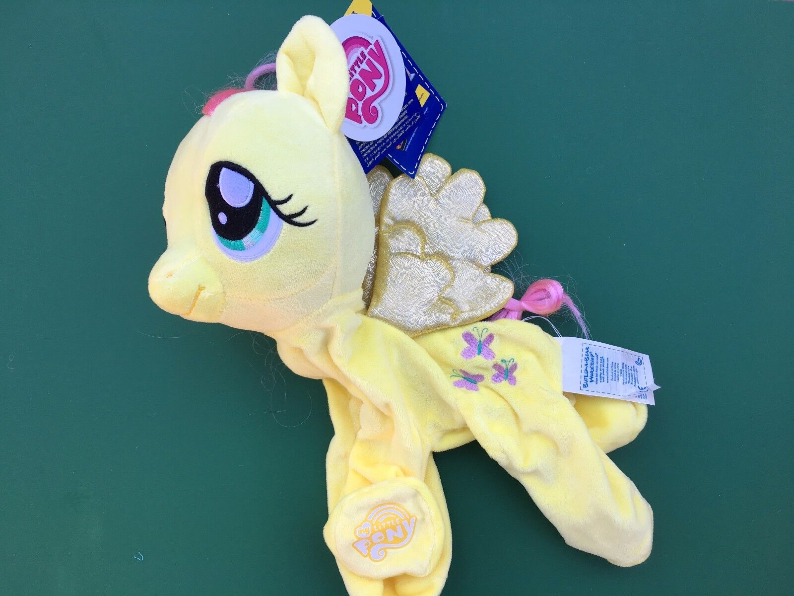 Build a Bear PLUSH 15 in. MY LITTLE PONY FLUTTERSHY - UNSTUFFED