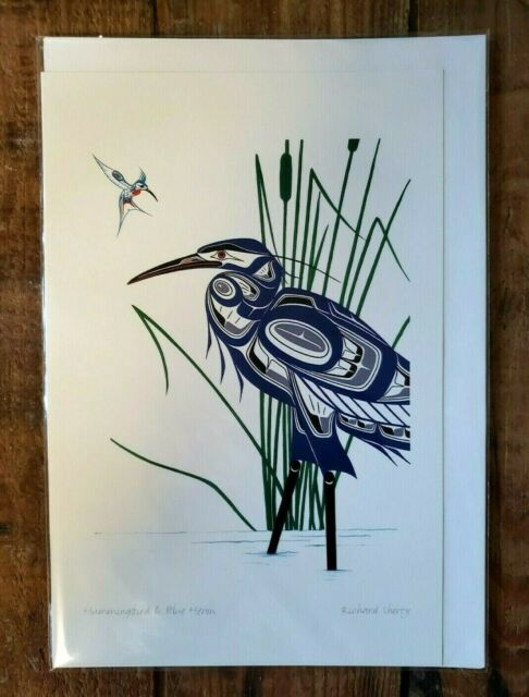 HUMMINGBIRD & BLUE HERON  6