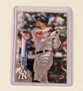 2020-Topps-Series-1-AARON-JUDGE-No-Foil-Logo-ERROR-SP-NYY-Yankees-Rare-7