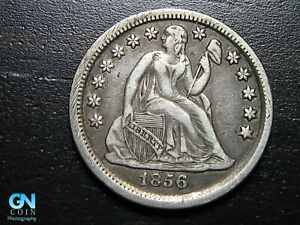 1856-P-Seated-Liberty-Dime-MAKE-US-AN-OFFER-B7242